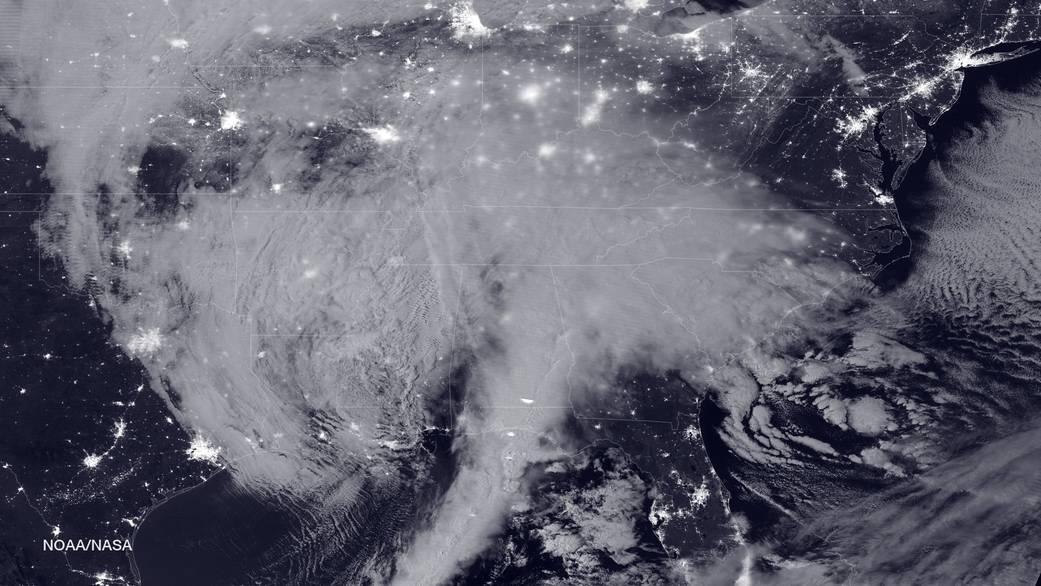 2016.1.23:アメリカ東部を襲う記録的な暴風雪