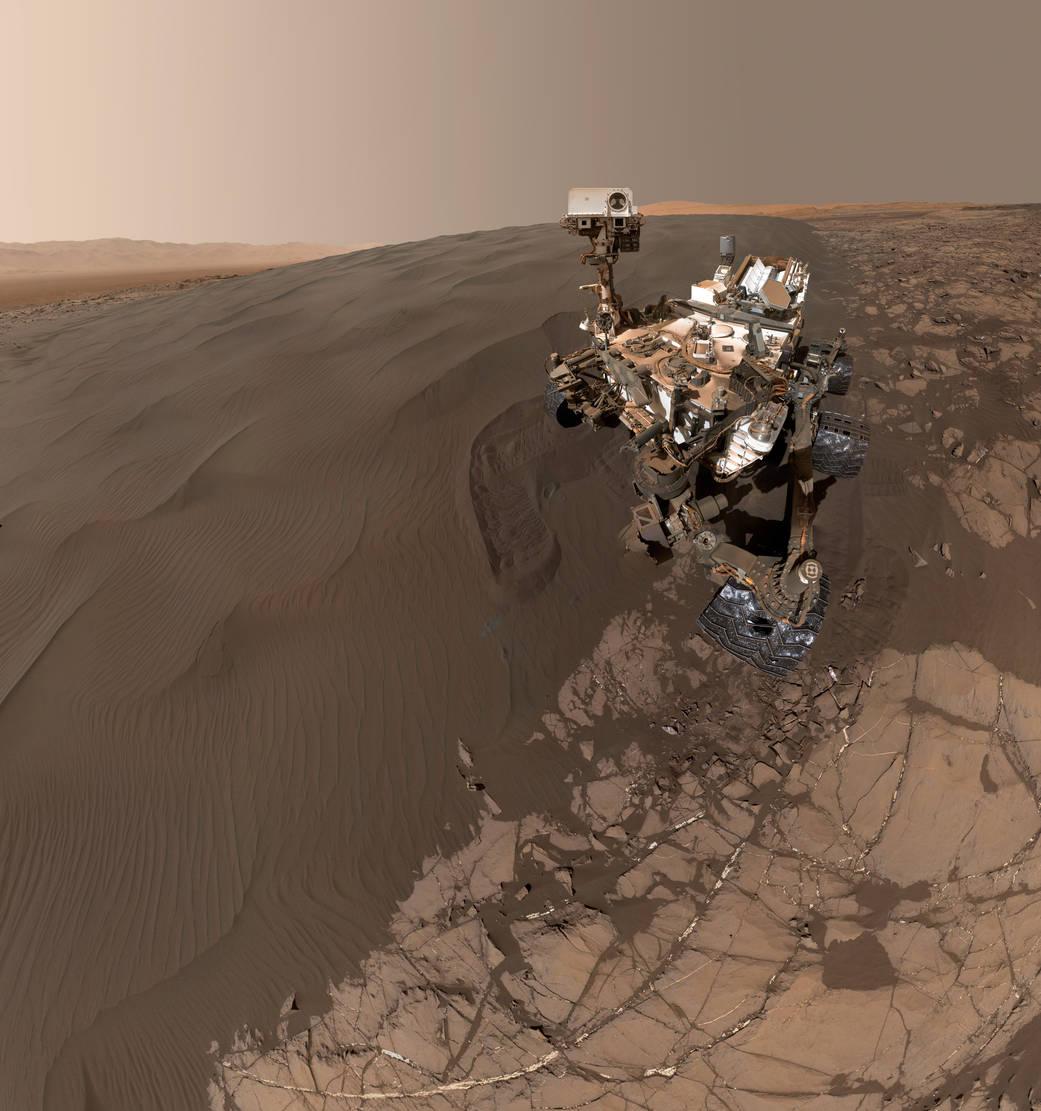 【正解】 2016.1.30:NASAの探査機が火星の砂丘で自撮り!?