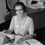 2016.2.26:仕事中の数学者キャサリン・ジョンソン