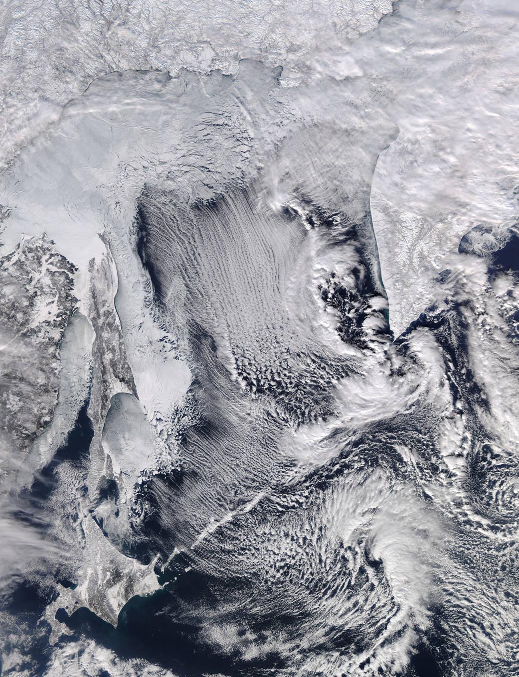 2016.2.11:北海道に迫る流氷が見えた!