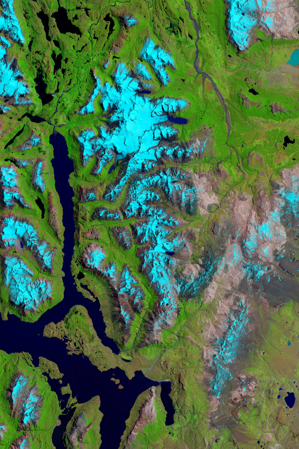 2016.2.24:パタゴニアの氷河がピンチ