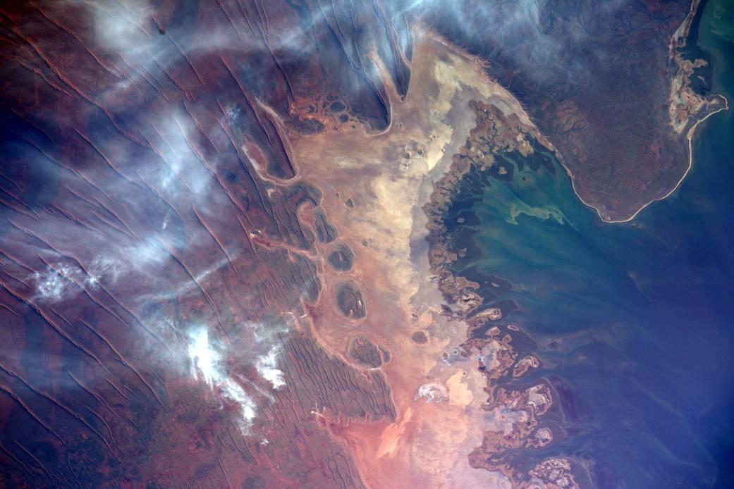 2016.3.31:オーストラリア北西部の地球アート
