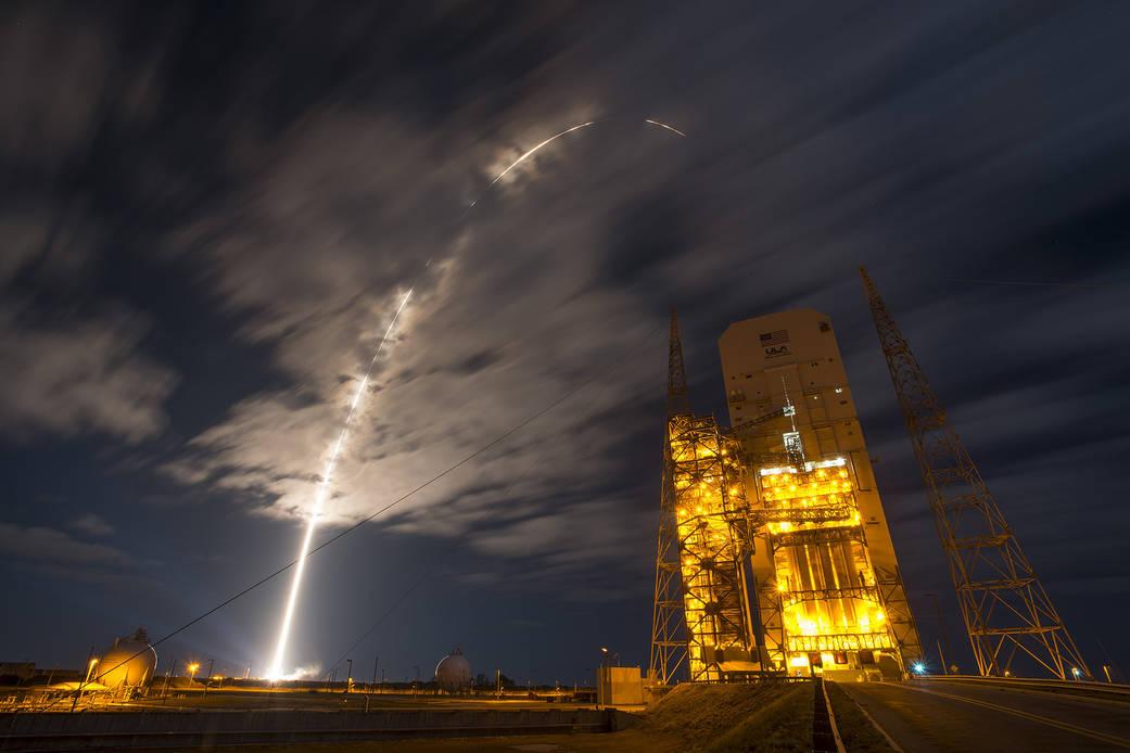 2016.3.23:シグナス無人補給機の打ち上げ成功