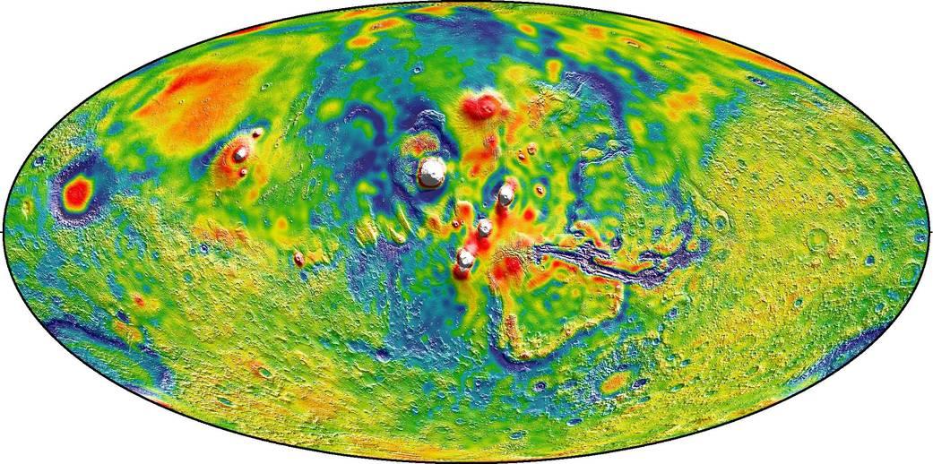 2016.3.22:火星の重力地図