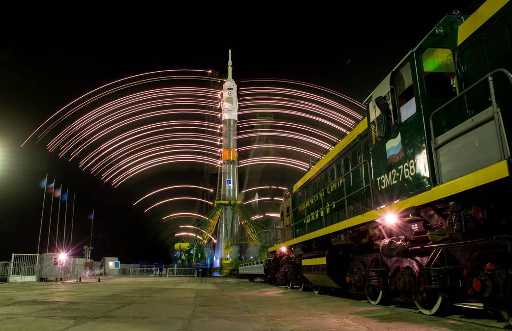 2016.3.18:ソユーズTMA-20Mの打ち上げ準備完了