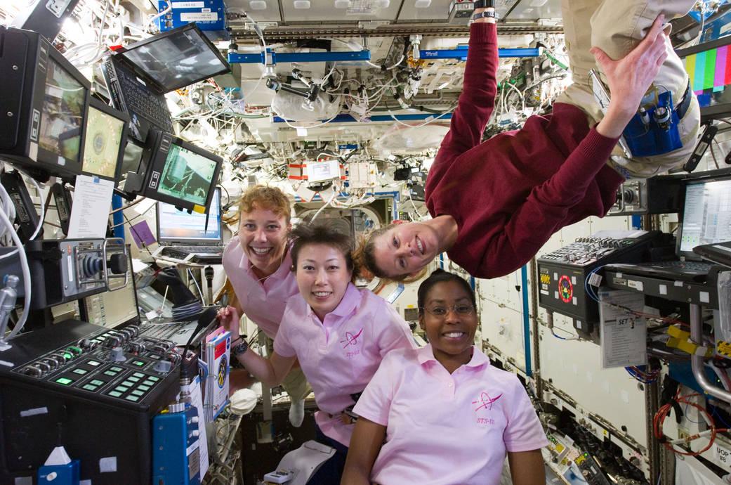 2016.3.9:宇宙での国際女性デー