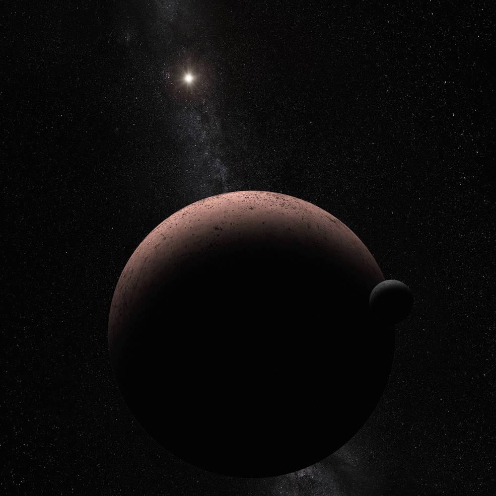 【速報】ハッブル望遠鏡で準惑星マキマキの衛星を発見!