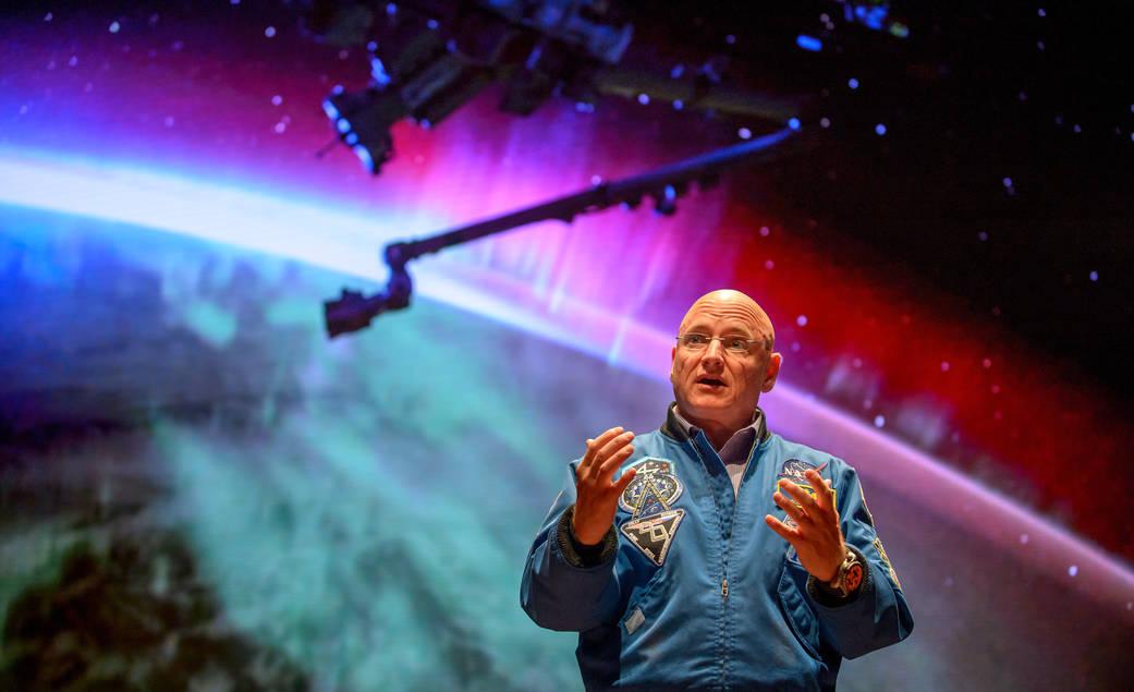2016.05.28:宇宙飛行士スコット・ケリーがワシントンに登場!