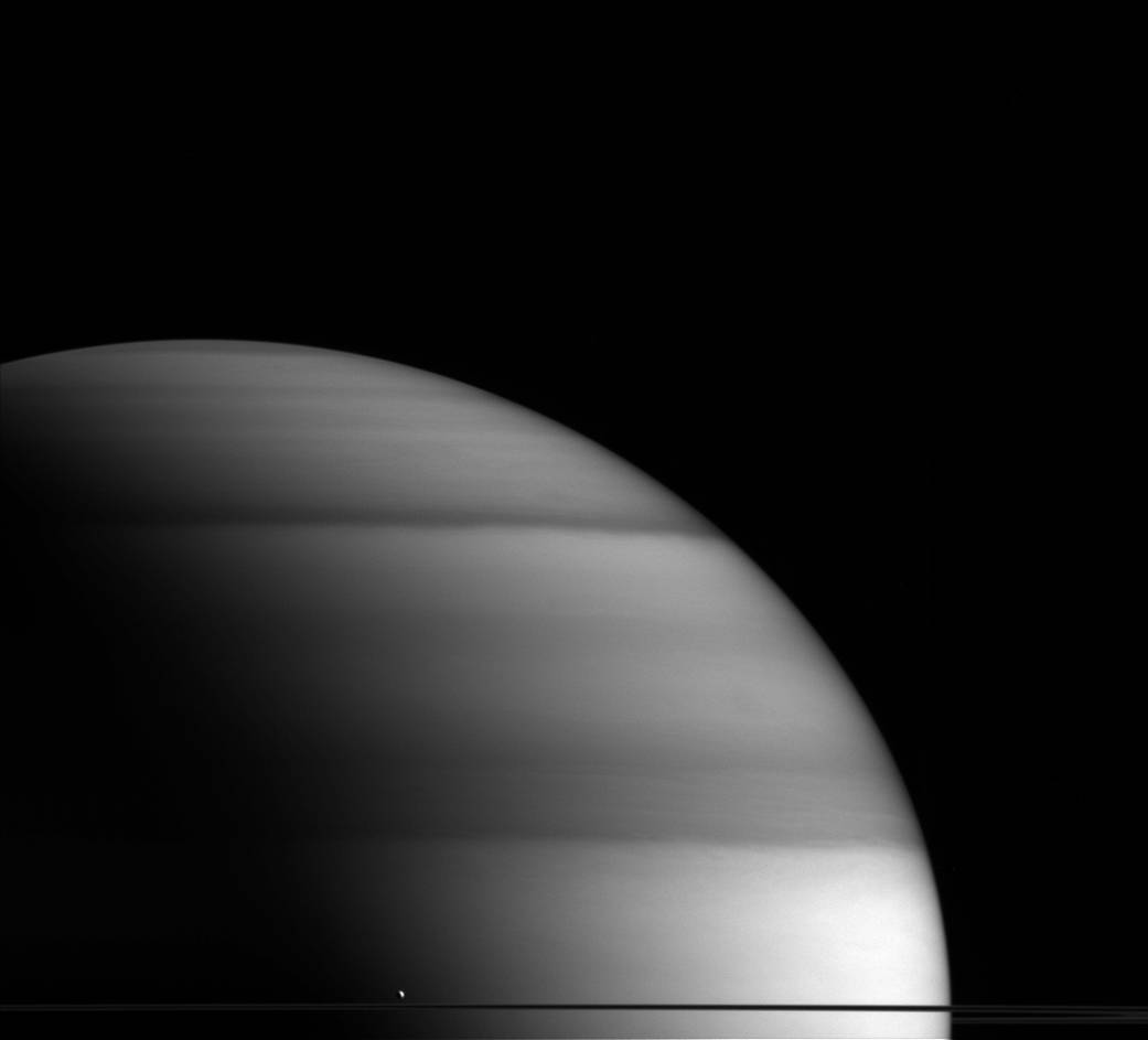 2016.05.03:土星の輪に雫がポタリ...