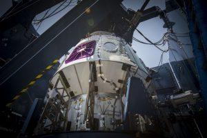 SpaceX Crew Dragon Weldment Structure