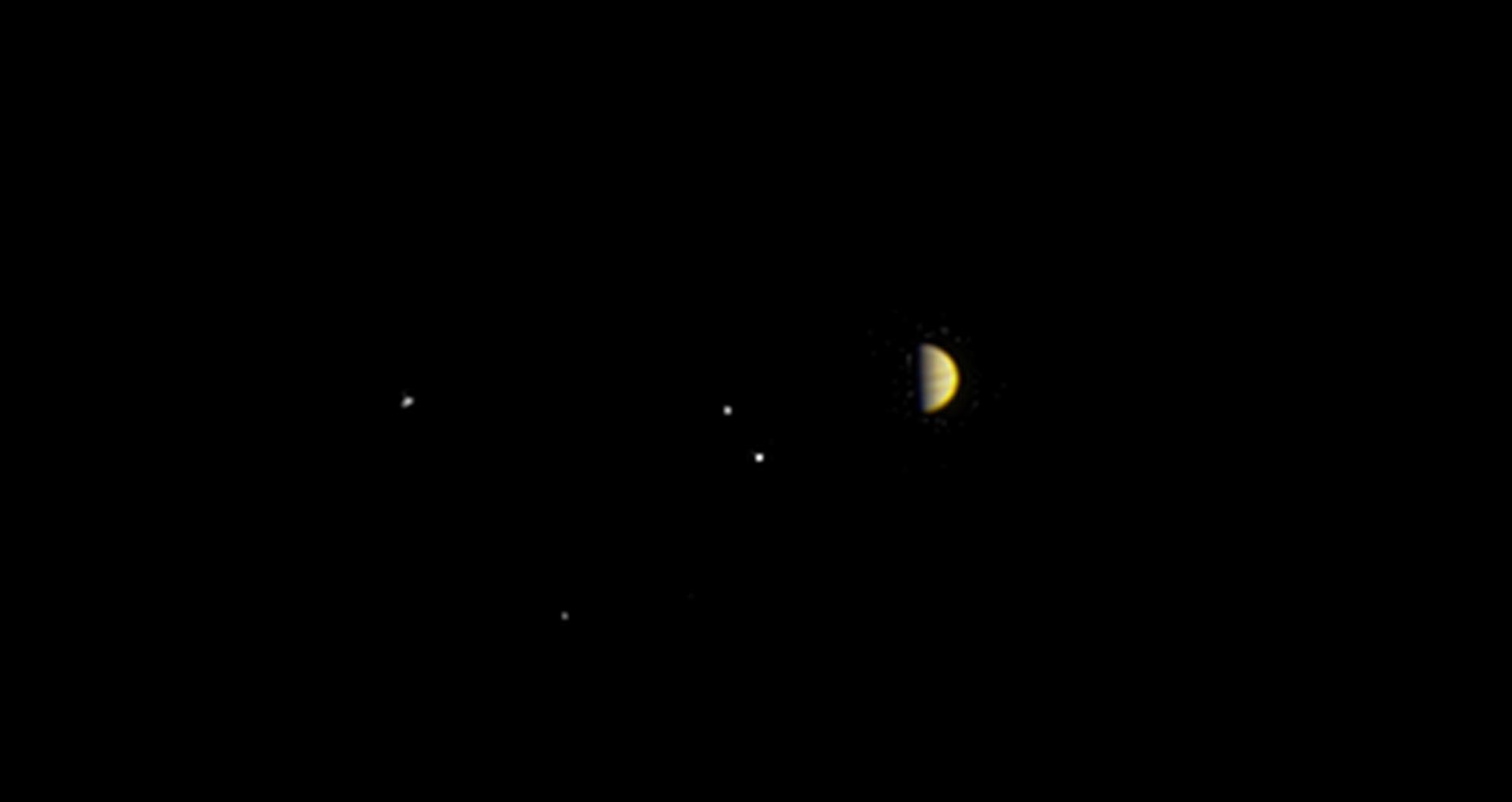 2016.06.28:NASAの探査機が木星に接近