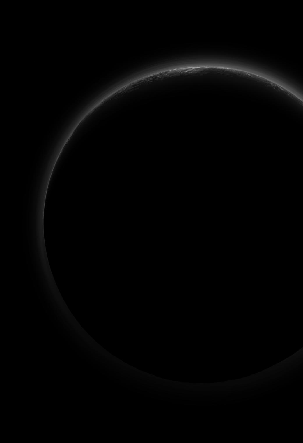 2016.06.03:太陽を背にした冥王星