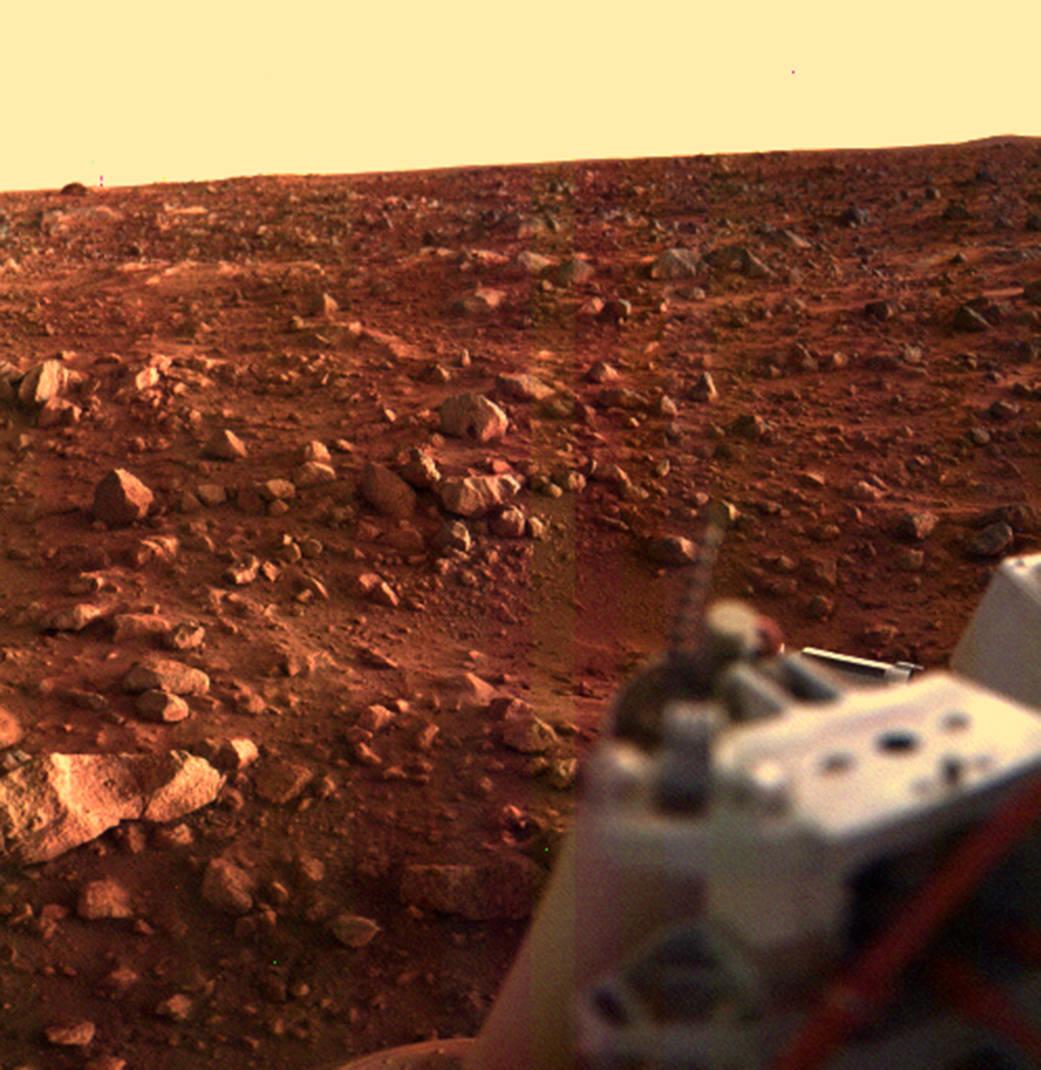 2016.07.21:40年前の歴史的火星地表写真