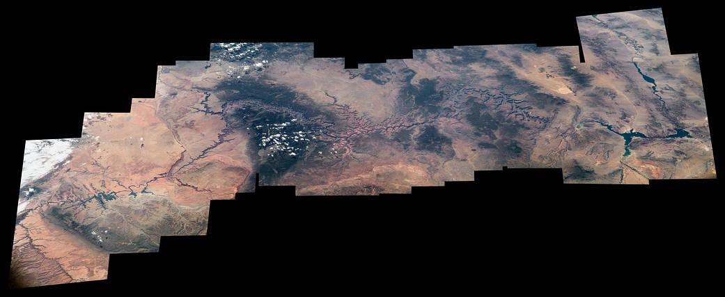 2016.08.26:宇宙ステーションから見たグランド・キャニオン国立公園