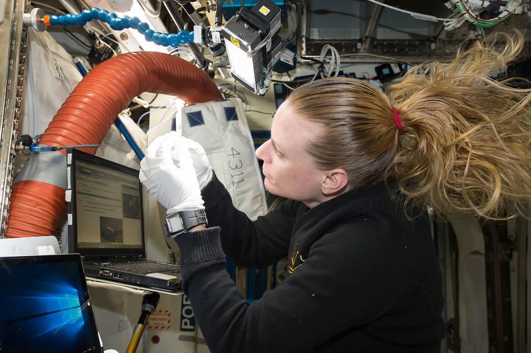 2016.09.22:宇宙ステーションでDNA検査する目的とは?