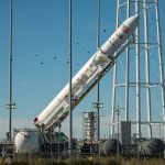 2016.10.15:アンタレスロケットの打ち上げ準備