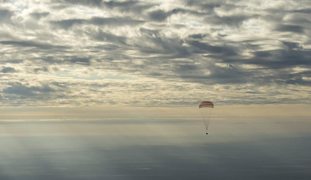 2016.10.30:第49次長期滞在クルーの地球帰還
