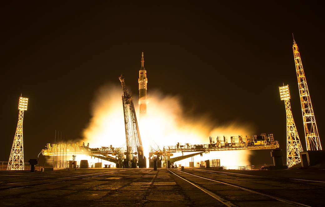 2016.11.19:第50次長期滞在クルーを乗せたソユーズの打ち上げ