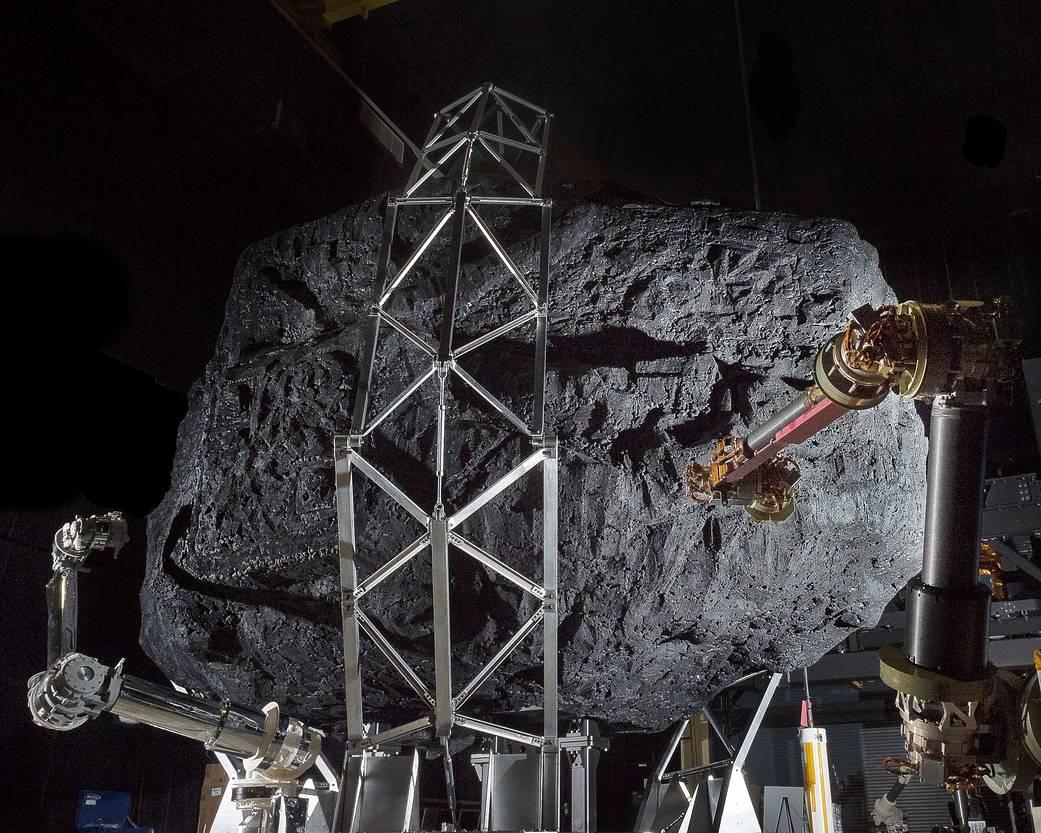 2016.11.01:ARM計画のテスト用小惑星モックアップ