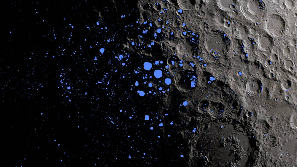 月の南極で発光現象が起こるかもしれない…
