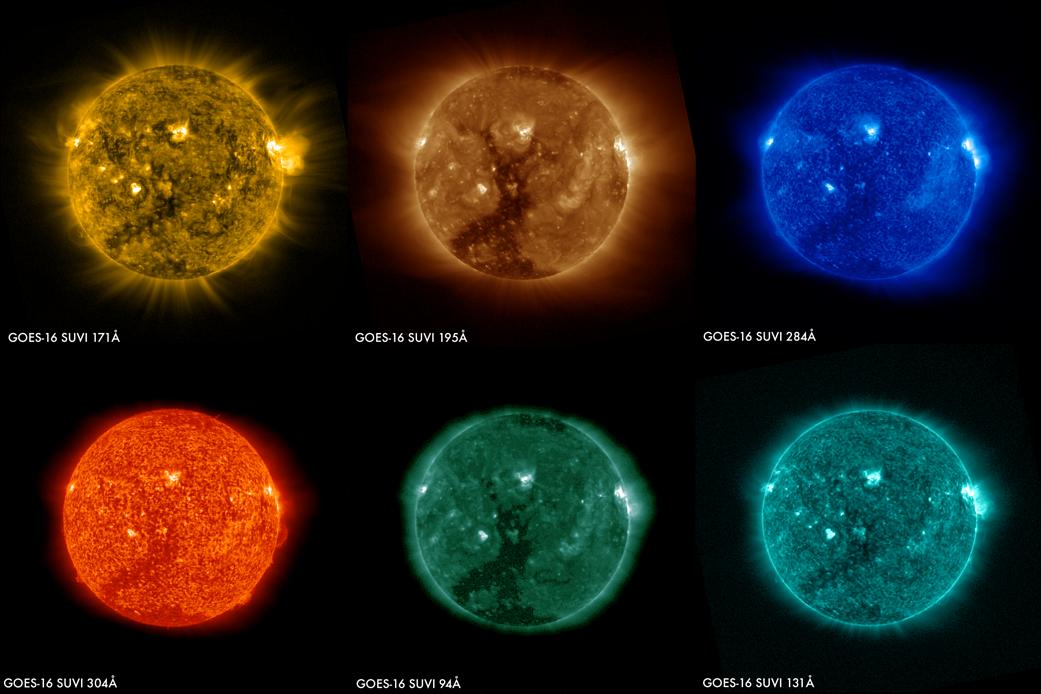 2017.02.28:カラフルな太陽フレア