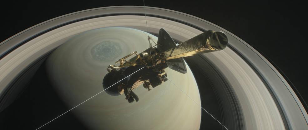 NASAの探査機カッシーニが土星に突入!壮絶なまでに美しい映像